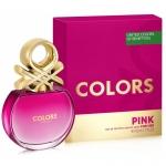 Туалетная вода Colors de Benetton Pink Benetton для женщин, 50мл