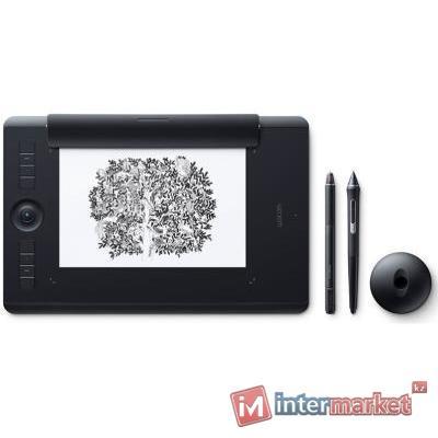 Графический планшет Wacom Intuos Pro Medium Paper Edition PTH-660P черный