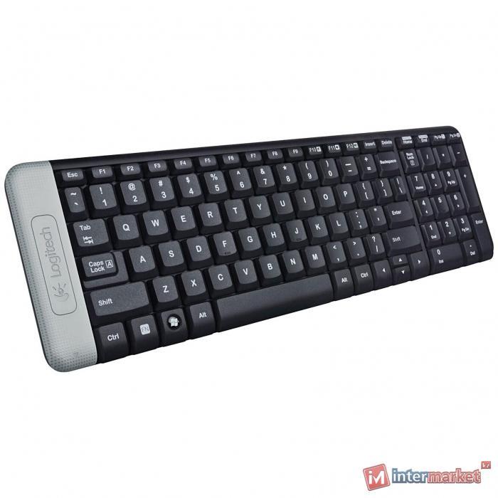 Клавиатура L920-003348 LOGITECH Wireless Keyboard K230 - EER - Russian layout