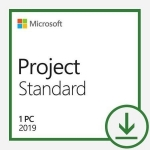 Microsoft Project Standard 2019 Win All Languages Online Product Key License 1 License Downloadable Click to Run ESD NR