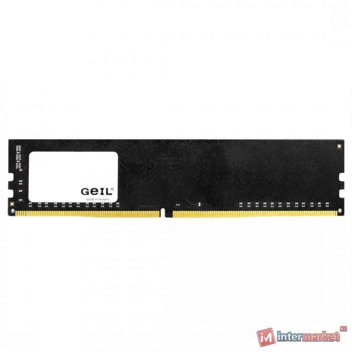Оперативная память 16GB GEIL 2666MHz DDR4 PC4-21330 19-19-19-43 GN416GB2666C19S Bulk Pack