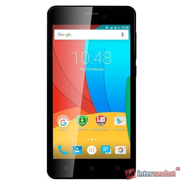 Смартфон Prestigio MultiPhone Wize NX3, Black