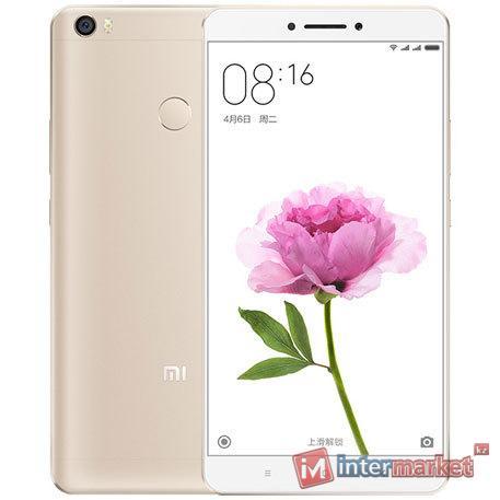 Смартфон Xiaomi Mi Max 16Gb, Gold